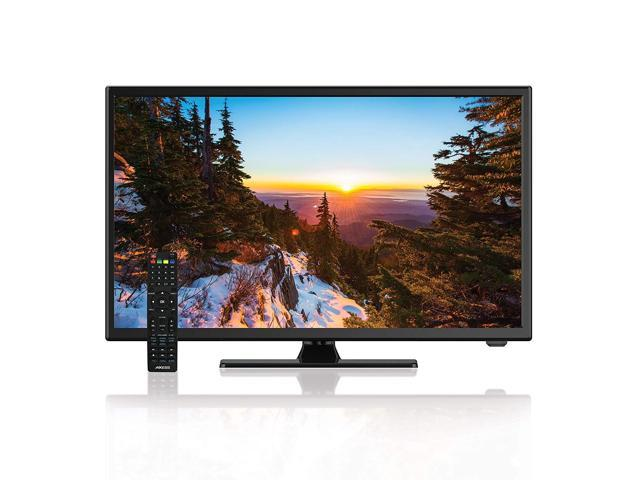 AXESS TVD1805-22 22-Inch 1080p LED HDTV, 12V Car Cord, VGA/HDMI/USB Inputs, Built-In DVD Player, Full Function Remote