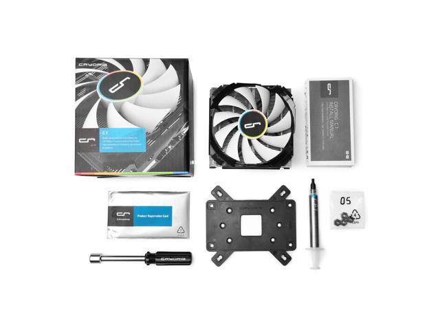 CRYORIG C7 - 47mm Tall, SFF Mini ITX CPU Heatsink