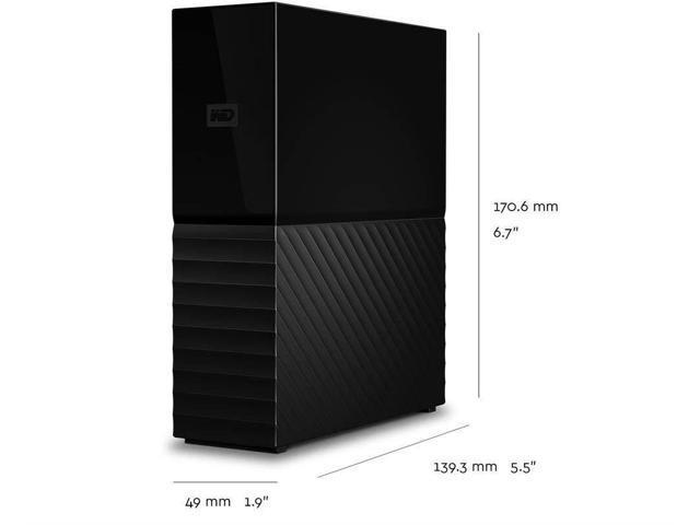 WD My Book 6TB USB 3.0 Desktop Hard Drive WDBBGB0060HBK-NESN Black