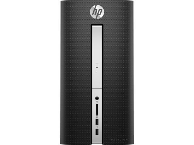HP Pavilion 570 Mini Tower Desktop , Intel Core i3-7100 3.9GHz, 4GB DDR4, 1TB HDD, Ultra Slim DVD-RW, Wifi, Bluetooth, Dual Monitor Capable, USB Type-C, Windows 10 Home