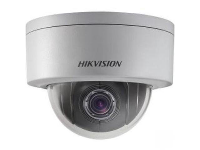 Hikvision 3MP DWDR Network P&P Mini PTZ Dome Camera POE IP66 Outside 4X - DS-2DE3304W-DE