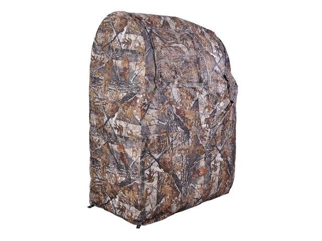 Pro Hunting Chair Ground Blind Real Tree Camo Tent One Man Hunt Turkey Deer Duck ...  sc 1 st  Newegg Flash & Pro Hunting Chair Ground Blind Real Tree Camo Tent One Man Hunt ...