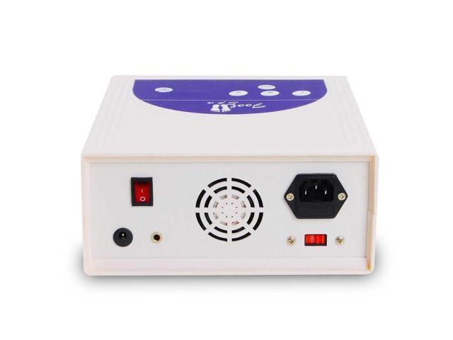 50W Detox Foot Bath Spa Machine Kit Cell Ion Ionic Array LCD Display w/ Case