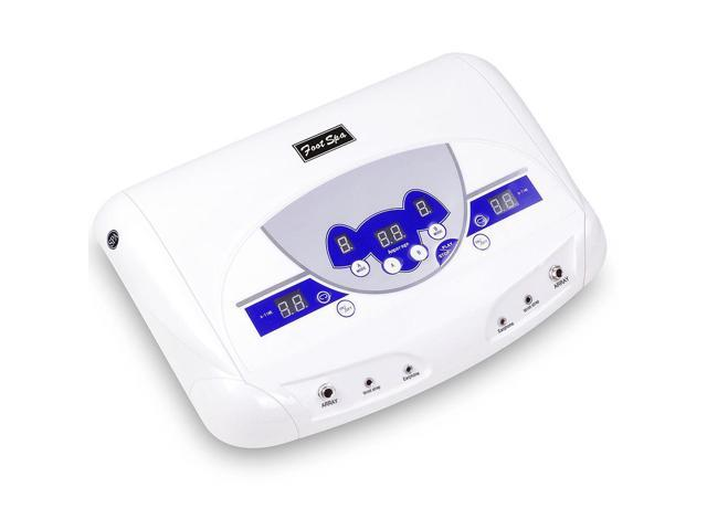 Dual-user Ionic Detox Machine Foot Bath Spa Tool w/ MP3 Music Player Home Salon