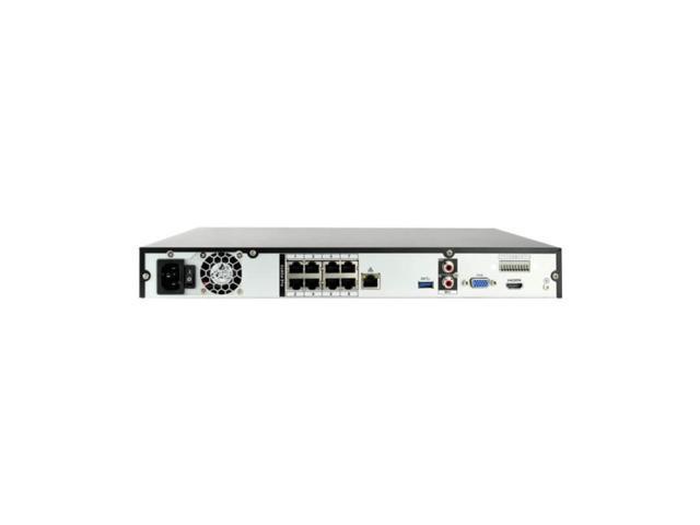 4K IP Camera System w/ 4 4K Dome Cameras - 30fps @ 4K, 2TB HDD, 125ft Color Night Vision, Vandal Resistant - Montavue MTIP1208244KDP