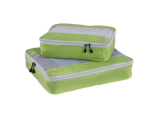 2Pcs Uncharted Ultra-Lite Clothes Storage Packing Cube Travel Luggage Set Green