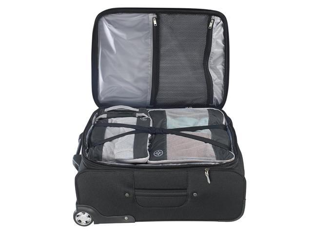 2Pcs Uncharted Ultra-Lite Clothes Storage Packing Cube Travel Luggage Set Gray