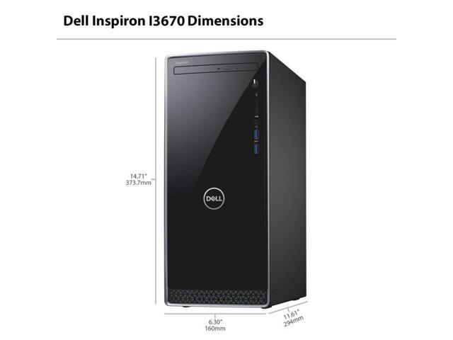 Refurbished: Dell Inspiron 3670 Desktop i5-8400 12GB 16GB Optane 1TB DVDRW WIFI Win10