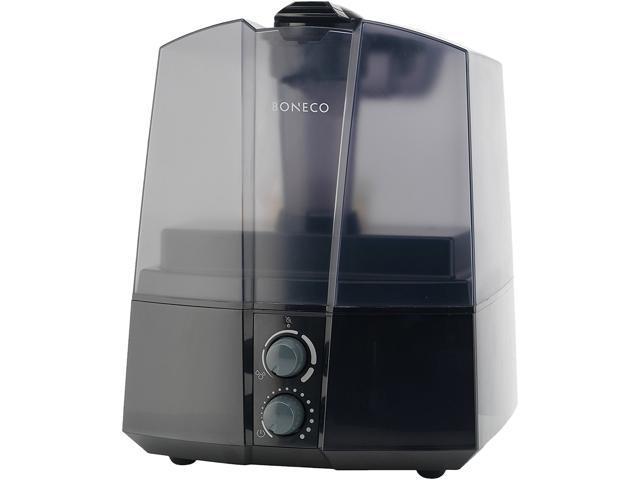 Boneco 7145 Compact Ultrasonic Humidifier, Black