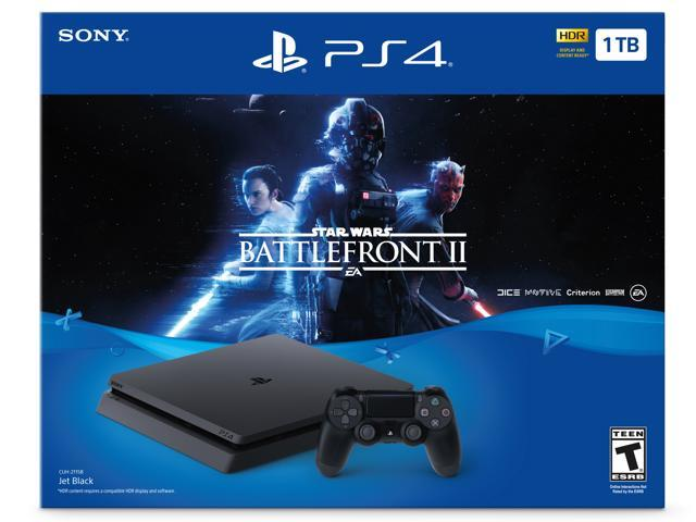 PlayStation 4 Slim 1TB Console - Star Wars Battlefront II Bundle