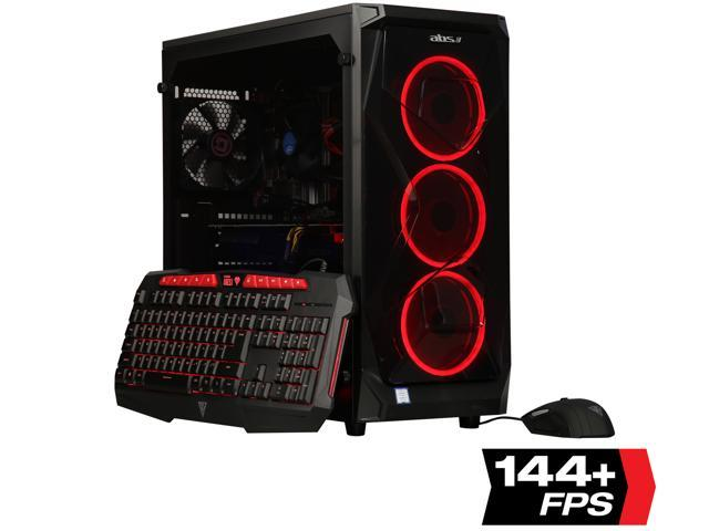 ABS Gem Gaming Desktop (i7-8700 / 16GB / 1TB HDD & 240GB SSD)