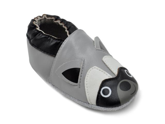 18198a5776bc6 Kimi + Kai Boys Soft Sole Leather Baby Shoes - Raccoon – NeweggFlash.com