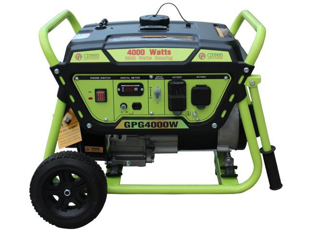 Green-Power America Pro Series 4000 Watt Gasoline Generator
