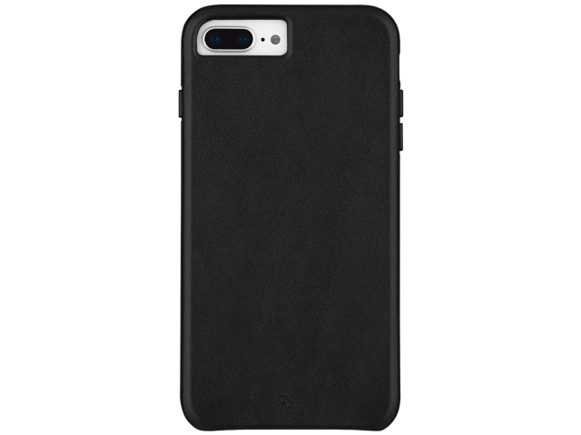 sports shoes e8f8d a34cb Case-Mate iPhone 8 Plus/7 Plus/6 Plus Black Barely There Leather ...