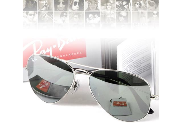 ray ban aviator rb3025 silver mirror