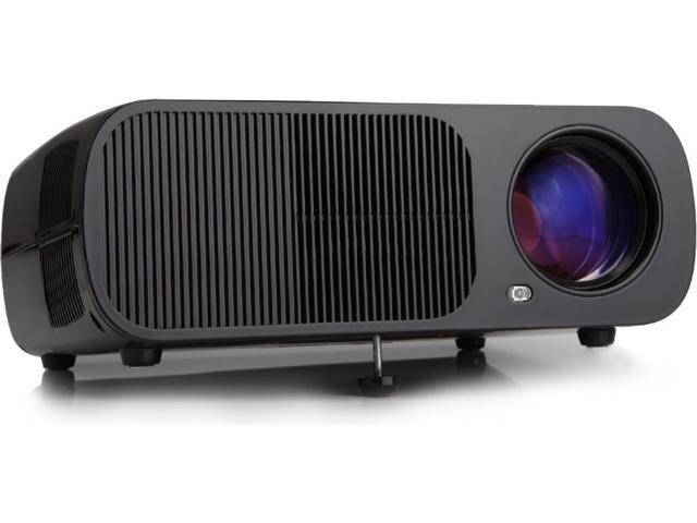 iRULU BL20 LED Home Theater Projector (Black)