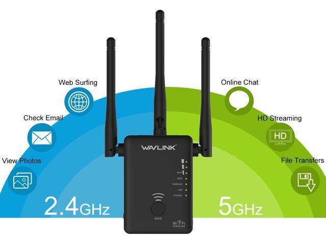 Wavlink 802.11AC 750Mbps Mini WIFI Range Extender