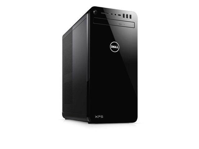 Dell XPS 8930 Tower Desktop, 8th Gen Intel 6-Core i7-8700 Upto 4.6GHz, 8GB DDR4, 128GB SSD Plus 1TB HDD, DVD-RW, Wifi, Bluetooth, Dual Monitor Capable, Windows 10 Professional