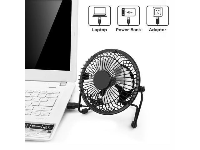 RCF AF8 Desktop USB Fan With Upgraded 6 Inch Blades, Enhanced Airflow,  Lower Noise, Metal Design, ...