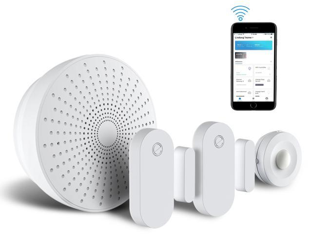 eco4life by Sonicgrace WiFi Wireless Smart Home Security Starter Kit