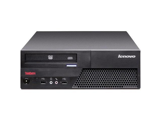 Refurbished: Lenovo ThinkCentre M58 INTEL Core 2 Duo 3000 MHz 160Gig Serial ATA 8GB DVD ROM Windows 10 Professional 64 Bit Desktop Computer