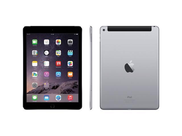 "Refurbished: Apple iPad Air 2 9.7"" Retina Display 16GB Touch ID Wi-Fi Only Space Gray - OEM"