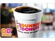 $25 Dunkin Donuts Gift Card Email Delivery Deals