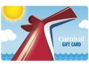 Deals on $200 Carnival Cruise Gift Card Email Delivery