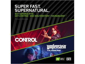 NVIDIA Super Combo: Wolfenstein YoungBlood and Control