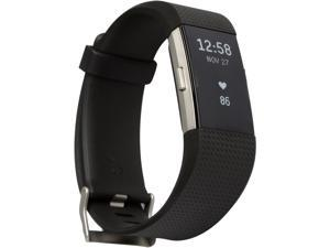 Fitbit Charge 2 Heart Rate and Fitness Wristband Large - Black