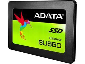 "ADATA Ultimate SU650 2.5"" 240GB SATA III 3D NAND Internal Solid State Drive (SSD) ASU650SS-240GT-C"