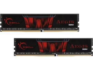 G.SKILL Aegis 16GB (2 x 8GB) 288-Pin DDR4 SDRAM DDR4 3000 (PC4 24000) Intel Z170 Platform Memory (Desktop Memory) Model F4-3000C16D-16GISB