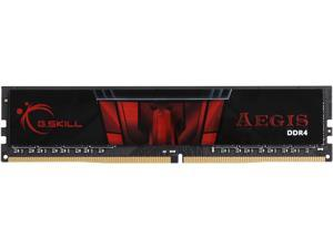 G.SKILL Aegis 8GB 288-Pin DDR4 SDRAM DDR4 3000 (PC4 24000) Intel Z170 Platform Memory (Desktop Memory) Model F4-3000C16S-8GISB
