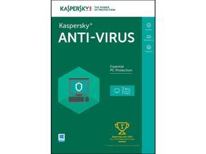 Kaspersky Anti-Virus 2016 for 3 PCs / 2 Years