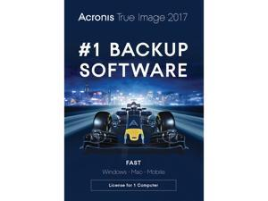 Acronis True Image 2017 for 1 Device (DVD Case)