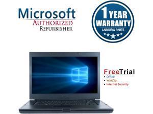 "Refurbished: Refurbished Dell Precision M4500 15.6"" Intel Core i7-620M 2.66GHz 8GB DDR3 1TB DVD Windows 10 Professional 64 Bits 1 Year Warranty"