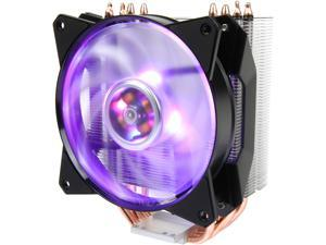 Cooler Master MA410P RGB CPU Air Cooler, 4 CDC Heatpipes, 120mm RGB MasterFan