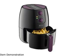 VICOODA ID0012US-01 Air Fryer 1500W, Programmable Electric Fryer with 8 Cook Prese