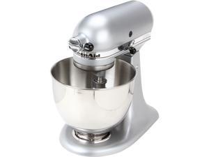KitchenAid KSM85PBSM 4.5-Quart Tilt-Head Stand Mixer Silver Metallic