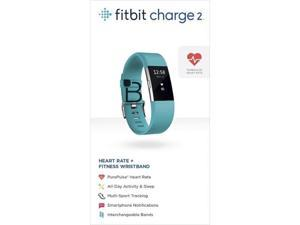 "Fitbit Charge 2 Heart Rate & Activity Tracker - Large (6.7""–8.1"") / Teal"
