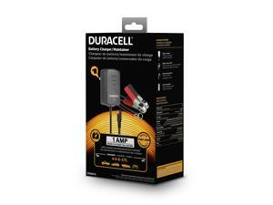 Duracell 1AMP Battery Charger|Maintainer DRBM1A|1AMP|100 - 240 V AC|3 stage charging|LED light