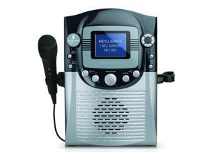 "Refurbished: The Singing Machine STVG359 CDG Karaoke System with 3.5"" Color LCD Monitor"