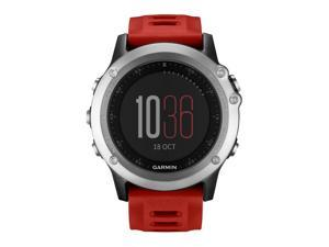 Garmin Fenix 3 Silver with Red Band