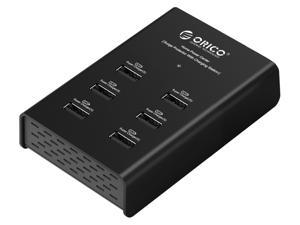 ORICO DUB-6P 72W 6 Port USB Charging Station - Black