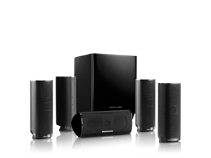 Harman Kardon HKTS 16BQ 5.1 Channel Home Theater Speaker Package - Black