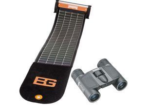 Bushnell Bear Grylls PP1010BG SolarWrap Charger, PowerView 8x21 Binoculars