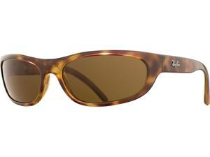 Ray-Ban RB4033 Polarized Sunglasses (Havana Brown/Brown Classic B-15 Polarized)