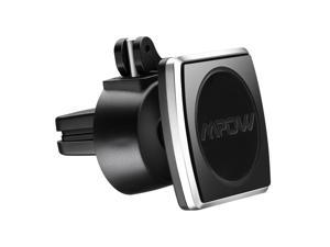 Mpow Mobile Phone Car Mount, Air Vent Magnetic Cell Phone Holder with One Touch Switcher for Smartphones, Mini Tablets, GPS Devices