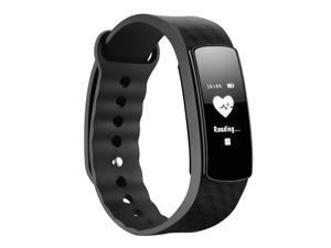 Heart Rate Monitor Smart Fitness Bracelet Health Tracker Activity Wristband for Android and iOS Smart Phones