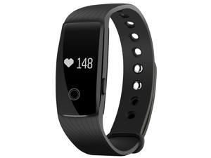 Patazon Heart Rate Monitor Smart Fitness Bracelet Health Tracker Activity Wristband Pedometer for Android and iOS Smart Phones